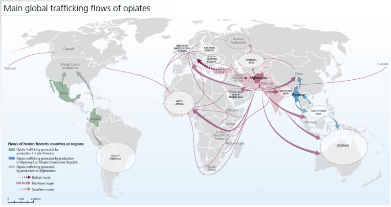 2015-UNODC-Opiates-Map